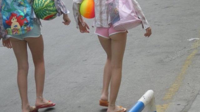 【速報】ロシアの女子小学生、スタイルが良すぎて素晴らしい【画像】