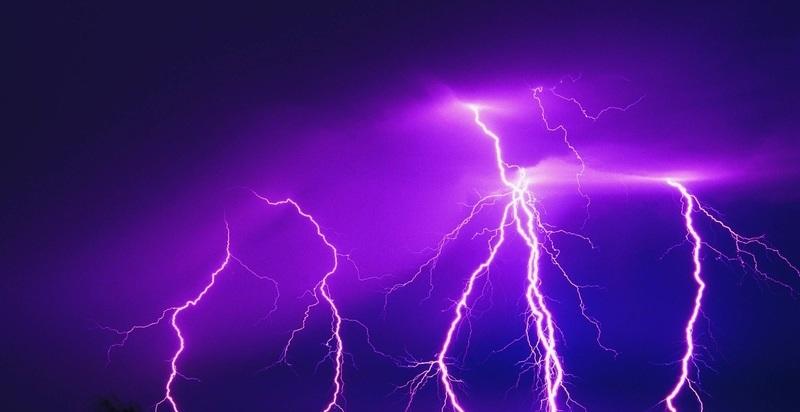 【閲覧注意】人間に雷が落ちたらこうなる・・・(1枚)