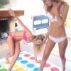【動画5本】美女たちがツイスターゲームでしますwww※ビキニやランジェリーでゲーム、パンチラ、胸チラありw