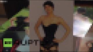 【動画2本】極細なウエストを維持するためにコルセットでウエストをメチャ締め付ける女性たち。