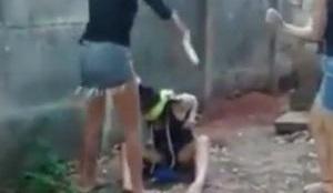 ブラジルで10代の少女が激しいいじめ。少女を縛り激しい暴行