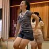 【エロいYoutube】ダンス中の女子高生のおっぱいがプルンプルンし過ぎててヤバいんだが・・・