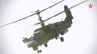 【動画】ロシアで開発された最新型攻撃ヘリコプター『カモフ52 アリゲーター(Ka-52 アリガートル)』がカッコいいw