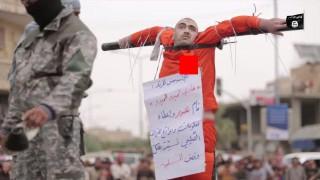 【閲覧注意】ISISの行き過ぎた処刑方法…。今度は十字架に張り付け生きたまま心臓などをナイフで突き刺す…。
