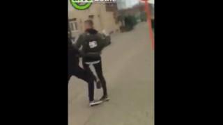 【衝撃動画】イジメっ子が喰らったカウンターパンチの音wwwww