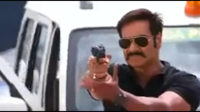 インドのヒーロー物映画のアクションシーン