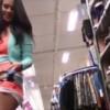 【動画】購入した人嫌だろうなwwwウォー○マートの商品のハイヒールでオナニーする美女の動画www