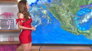 【動画】メキシコで人気のお天気お姉さん『Yanet Garcia(ヤネット・ガルシア)』のセクシーな水着動画
