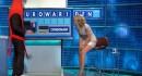 【パンチラ注意】イギリスのテレビ司会者『レイチェル・ ライリー』が毎回エロいボディコンでテレビ出演w